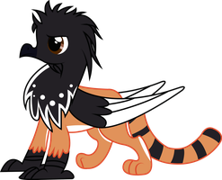 Comission: Magpie Griffon by Spectty