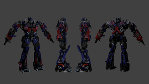 Optimus Prime 3D Model - Ready to be rigged by SuperPanakas