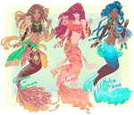 Merfolk Adopts :AUCTION: 2/3 OPEN by MMtheMayo