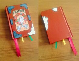 Adventure Time: Enchiridion sketchbook by CarrsCrap