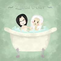 Bath Time by Zinnia-Aster