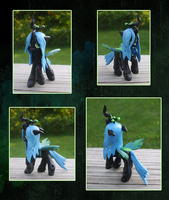 My Little Pony Blindbag Chrysalis Custom by kaizerin