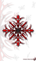 Tribal Snowflake by Vannic-One