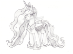 Princess Celestia by Inurantchan