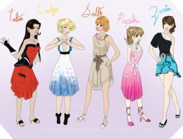 Dresses by MissMizea
