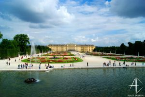schloss schoenbrunn by AlaasDesigns
