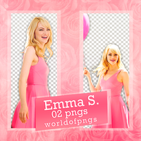 Pack Png 228 - Emma Stone by worldofpngs