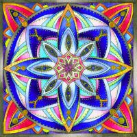 Mandala B 24Oct11 by Artwyrd