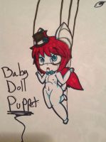 Baby Doll Puppet by evil-vivianne