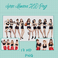Nine Muses Png Pack by Sullians