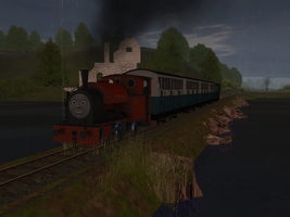 Rainy Morning on the Skarloey Railway, Part 2 by wildnorwester