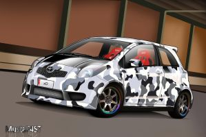 Toyota Yaris by mustaF4ST