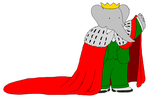King Babar - Mantle by KingLionelLionheart