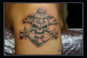 NAVY TATTOO by madtattooz