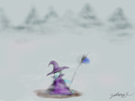 Trixie in the mist by Zackattack13