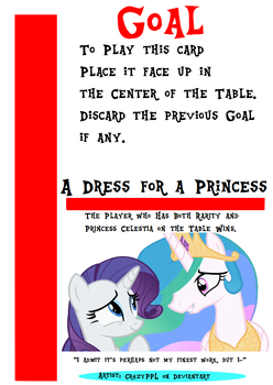 My little Fluxx - A Dress for a Princess by Jemrol