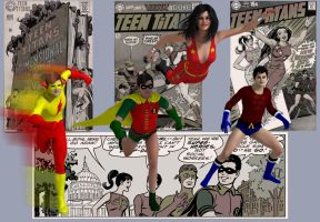 Teen Titans: For Nick Cardy by kevmann