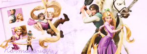 Tangled Facebook Cover by WolfiannGirl