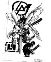 Linkin Park Over The Years by Decoy71