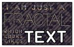 Fractal Like Text by miincdesign