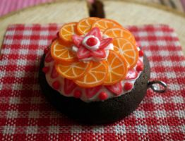 Delicious Orange - Pendant by vesssper