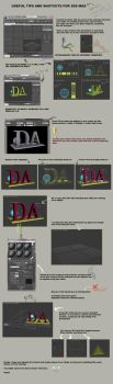 3ds max reference sheet GDS by gdsworld-stock