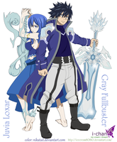 Gray x Juvia by NikaTail