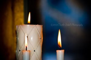 Wedding Candles by melly4260