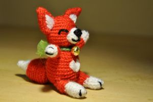 Cute Fox by Kridah