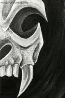 Skull WIP by sobeyondthis