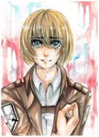 crying Armin by AkaReikou