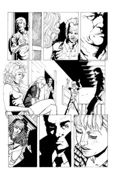 Terminus issue 2 page 4 ink by diabolicol