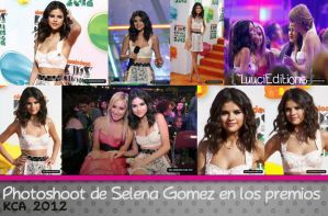 Selena en KCA 2012 by LuuciEditions
