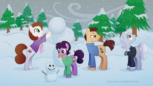 Snow by LissyStrata