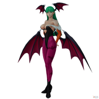 Morrigan SNK Pose by GenSamus