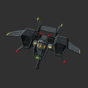 Gunship concept by ThunderBreak