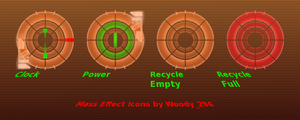 Mass Effect 2 Icons by woody-294