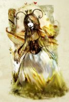 Titania queen of the faeries by stolenwings
