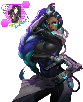 Sombra Overwatch by EneEdition