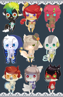 Adopt me!:: Big ol' Batch :CLOSED: by Sumu-Zu