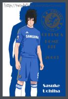 Sasuke Chelsea Home Kit 2013 by RendyLJoex