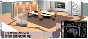 Voyager Briefing Room Complete by ChubbsMcBeef