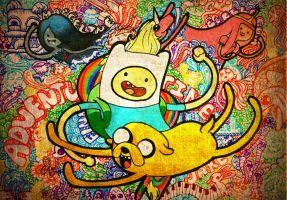 adventure time wallpaper by Mainerva
