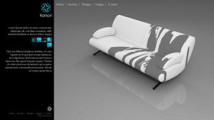 Design Web Site Komori 2 by pablorenauld