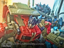 Transpirational- Optimus Prime by greatwuff