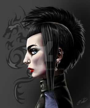 The girl with the dragon tattoo tribute by adventocld