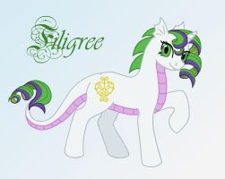 MLP - Spike 'n Rarity's filly by merrypaws