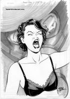 Amanda Palmer Kissed The Sandman by TerryMooreArt