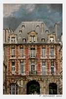 place des vosges by bracketting94