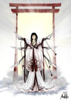 Amaterasu, The Sun Goddes by ArdiRa